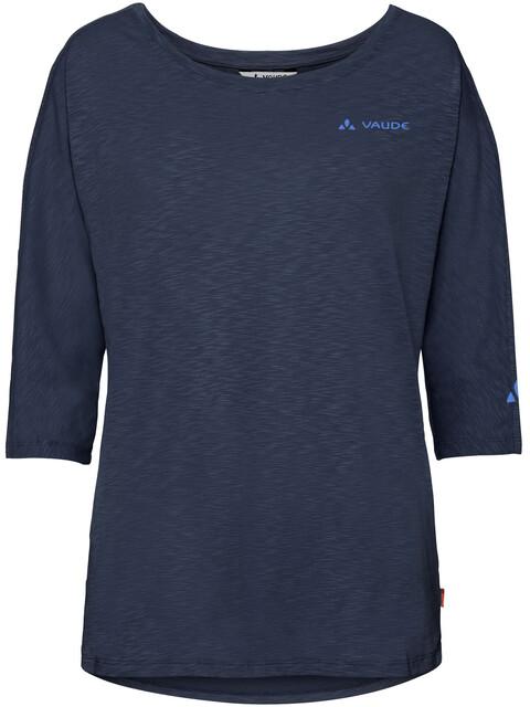 VAUDE Skomer - T-shirt manches courtes Femme - bleu